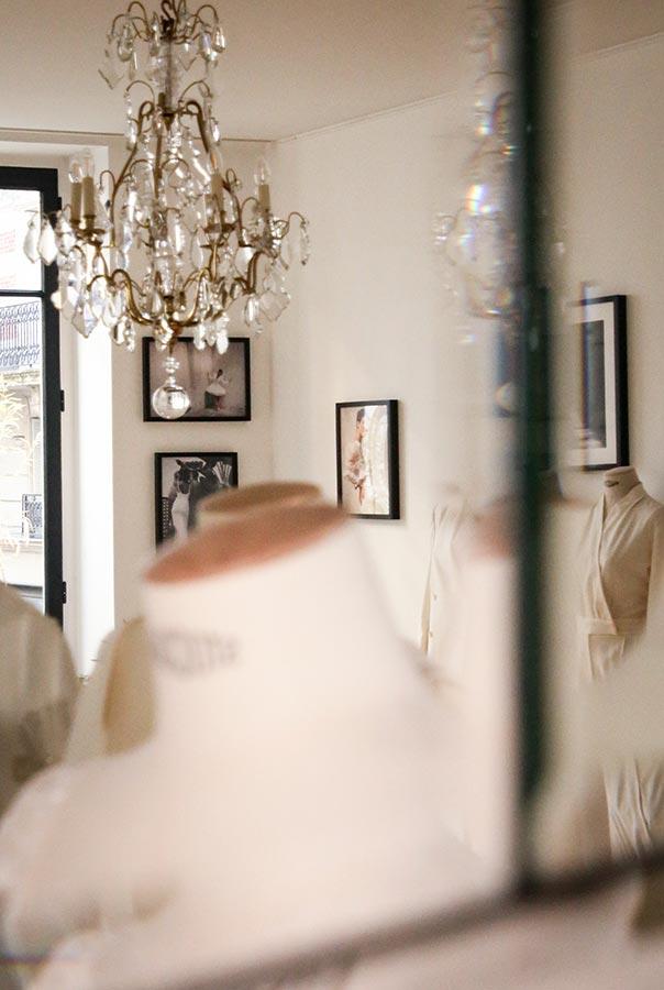 Showroom créateur mode à Paris - Sandrine Rocher Derichebourg
