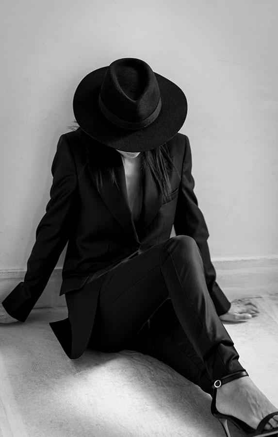 Créatrice de prêt-à-porte de luxe - Sandrine Rocher Derichebourg - Photo Naomi WU