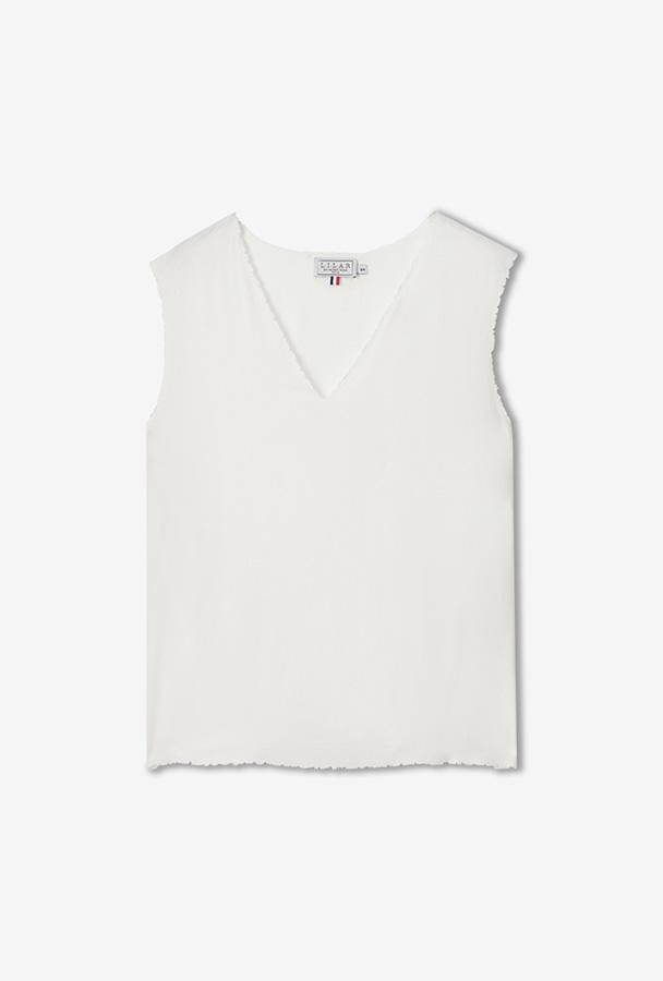LILAR Paris - Boutique en ligne de Prêt-à-porter - Mode étique Paris - Slowfashion Paris - T-shirt de luxe - Sandrine Rocher Derichebourg