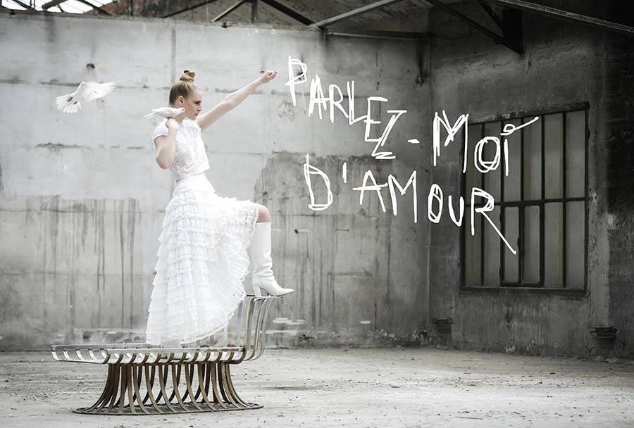 Sandrine Rocher Derichebourg Créatrice artistique - SRD - Créatrice de robes de mariée sur-mesure Paris - Robes de mariée Paris - Photo Sandrine Rocher Derichebourg