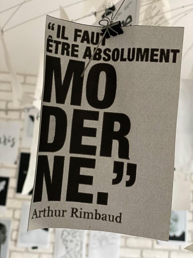 Arthur RIMBAUD - La-modernité -